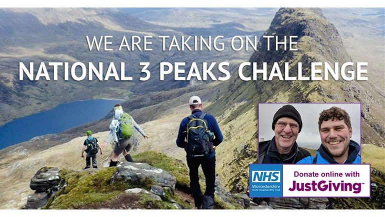 Paul and Stephen Dewdney 3 peaks