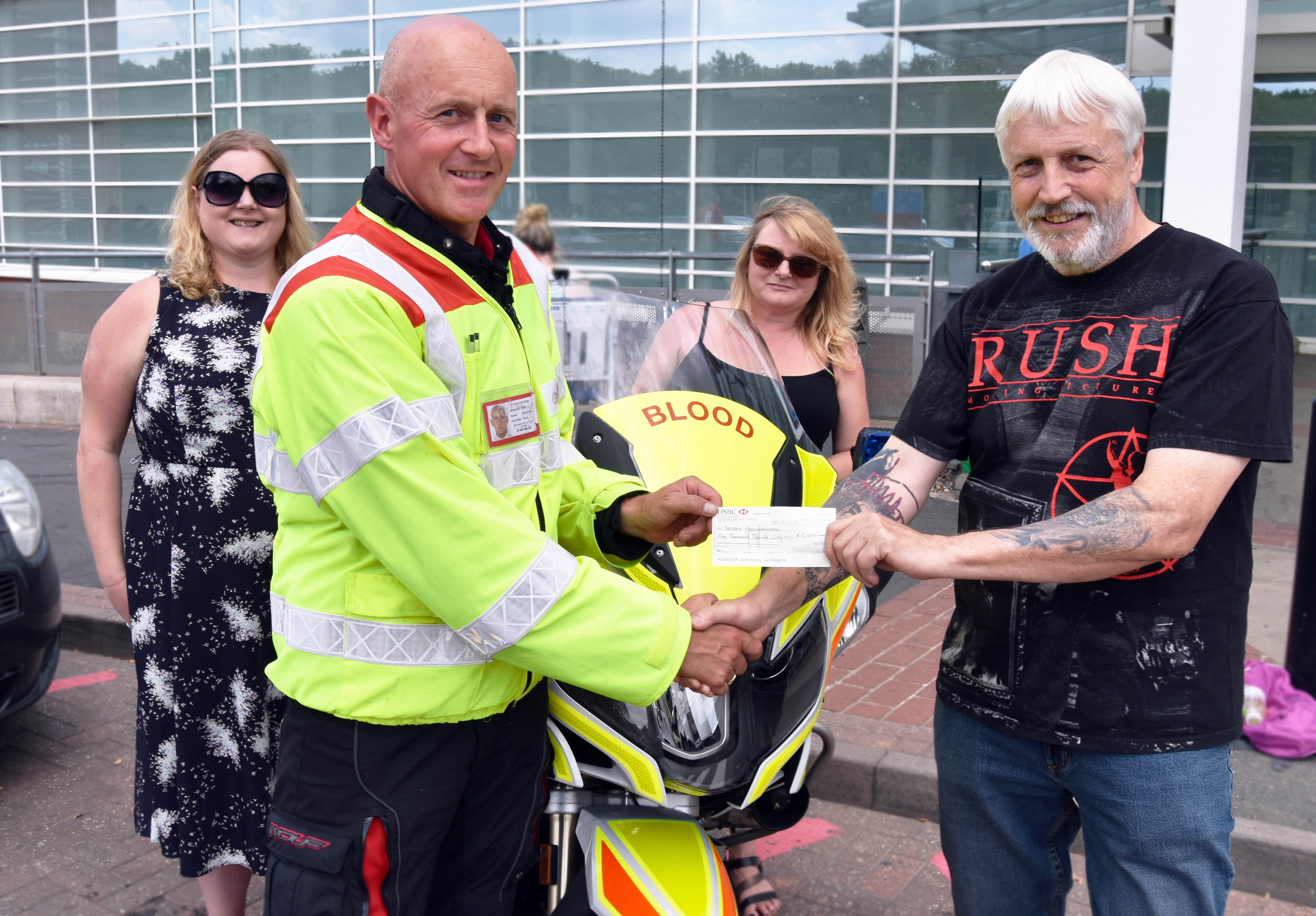 Severn Freewheelers donation 2 web