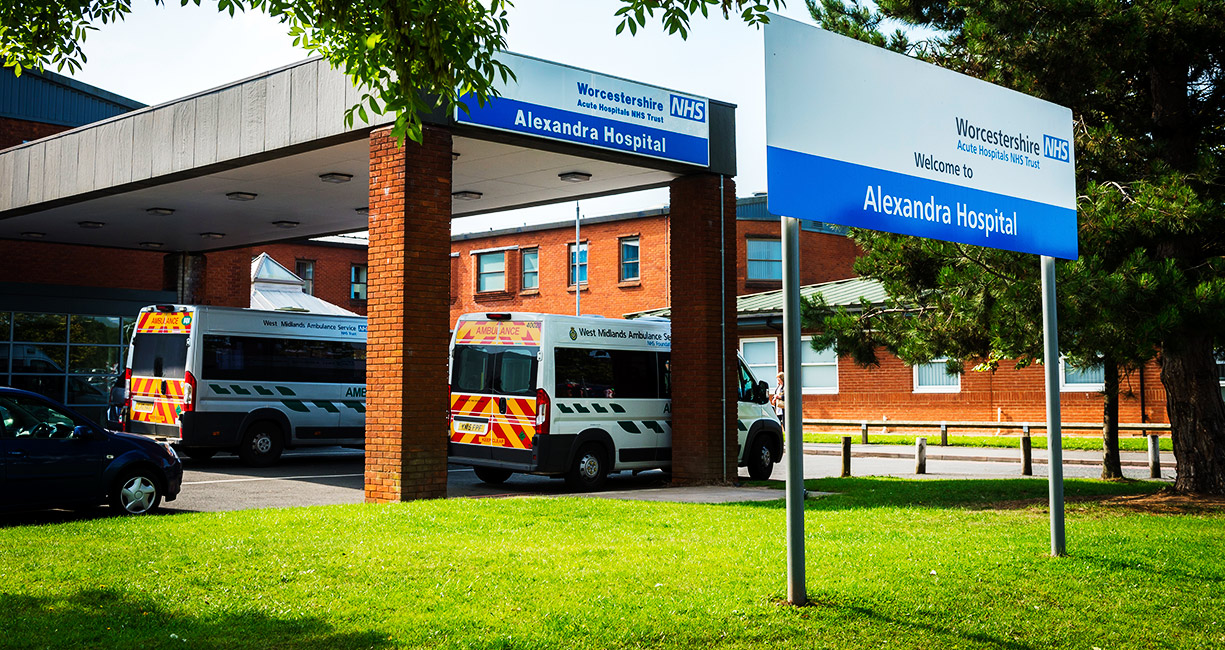 Alexandra Hospital, Redditch - Worcestershire Acute