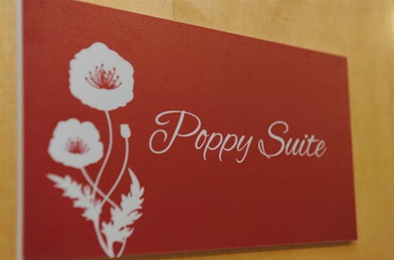 Poppy Suite - Meadow Birth Centre