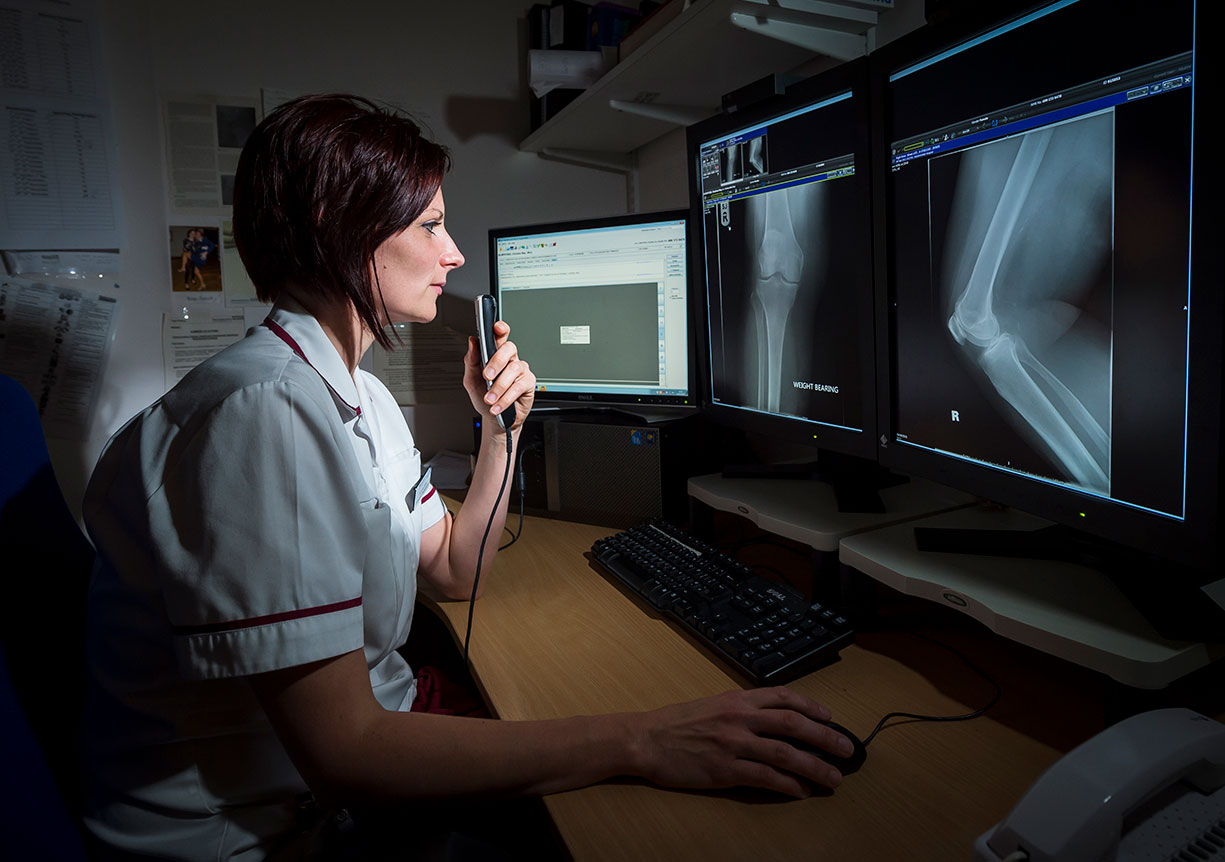 Rad1 Vicky Riley Consultant Radiographer